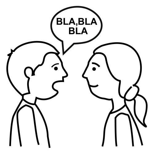 Imagen de dos personas hablando por telefono para colorear - Imagui