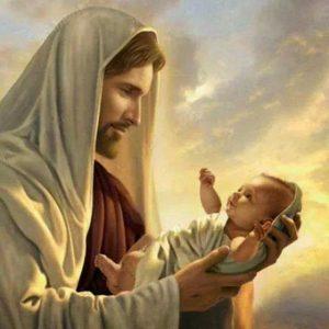 jesus-con-un-nino-en-sus-brazos