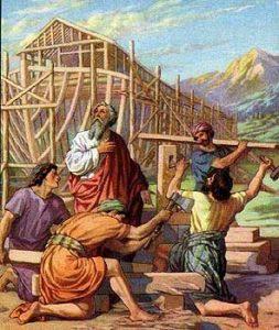en los días de Noé